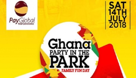 PayGlobal sponsors 2018 Ghana Party In The Park