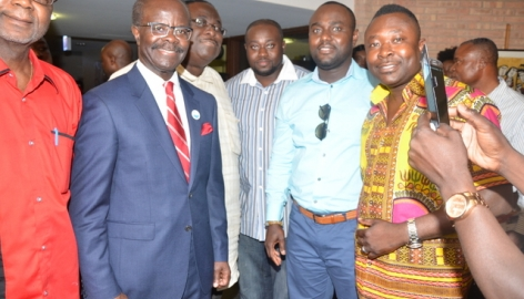 The Ghanaian Community (Chicago) Meets Groupe Nduom